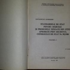 Standardele de stat pentru mărcile și produsele tipizate din otel  (3vol.) -1980