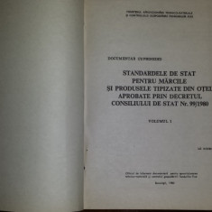 Standardele de stat pentru mărcile și produsele tipizate din otel (3vol.) -1980 - Carti Metalurgie