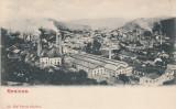 RESITA ,  VEDERE GENERALA. , CLASICA, Necirculata, Printata
