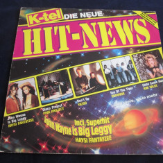 Various - k-tel hit-news _ vinyl, LP, germania, anii'80 - Muzica Pop Altele, VINIL