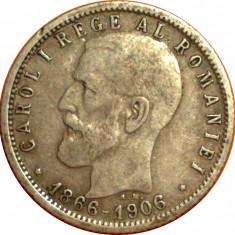 1 leu 1906 4 - Moneda Romania