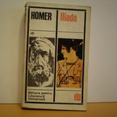 HOMER - ILIADA - ROMAN ISTORIC- GRECIA ANTICA IN TIMPUL SI DUPA RAZBOIUL TROIAN, An: 1967