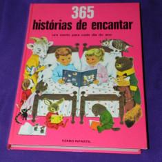365 historias de encantar - carte copii portugheza ilustratii superbe (c1075 - Carte de povesti