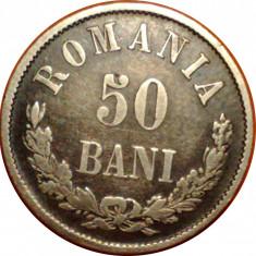 50 bani 1873 1 - Moneda Romania