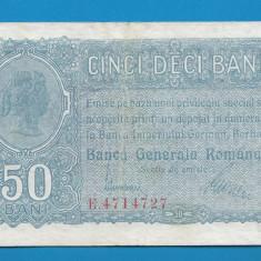 50 bani 1917 5 BGR - Bancnota romaneasca