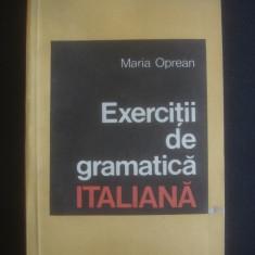 MARIA OPREAN - EXERCITII DE GRAMATICA ITALIANA - Curs Limba Italiana
