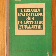 CULTURA PAJISTILOR SI A PLANTELOR FURAJERE- BARBULESCU, MOTCA, PUIA, MOISUC