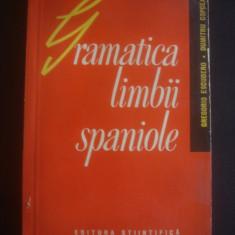 G. ESCUDERO, D. COPCEAG - GRAMATICA LIMBII SPANIOLE - Curs Limba Spaniola