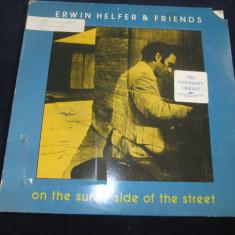 Erwin helfer & friends - on the sunny side of the street _ vinyl, LP, SUA - Muzica Jazz Altele, VINIL