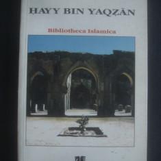 IBN TUFAYL - HAYY BIN YAQZAN