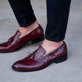 Pantofi Top Class Loafer COD: TOP-4. NEW COLLECTION - Pantof barbat, Marime: 39, 40, 41, 44, 45, Culoare: Din imagine, Piele naturala, Eleganti