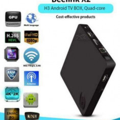Smart TV Box Android Mini PC Quad Core Ultra-HD 4K