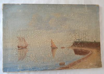 Marina pictura veche foto