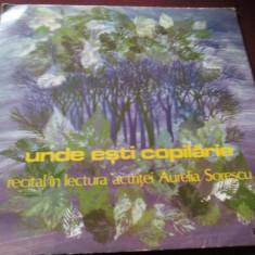 DISC VINIL UNDE ESTI COPILARIE - Muzica soundtrack