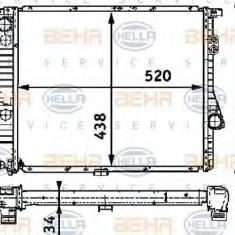 Radiator, racire motor BMW 5 limuzina 520 i - HELLA 8MK 376 711-241 - Radiator racire LuK