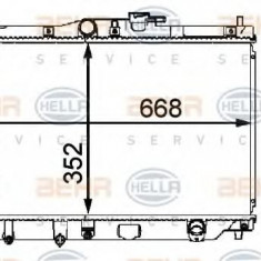 Radiator, racire motor ROVER 600 623 Si - HELLA 8MK 376 708-131 - Radiator racire LuK