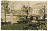 1292 - BUCURESTI, SARINDAR Market and Hotel CAPSA - old PC, real PHOTO - unused, Necirculata, Fotografie