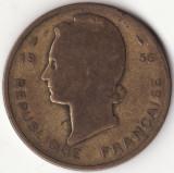 Africa Occidentala Franceza - 25 Francs 1956