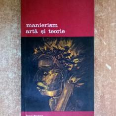 Manierism arta si teorie