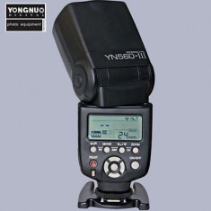 Blitz YONGNUO wireless YN560-III compatibil cu Nikon si Canon - Blitz dedicat