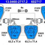 placute frana AUDI 100 limuzina S4 Turbo quattro - ATE 13.0460-2717.2