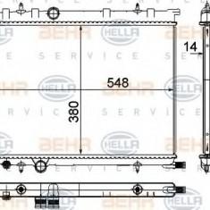 Radiator, racire motor PEUGEOT 308 1.6 BioFlex - HELLA 8MK 376 718-051 - Radiator racire LuK