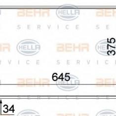 Radiator, racire motor VW SHARAN 1.9 TDI - HELLA 8MK 376 719-711 - Radiator racire LuK