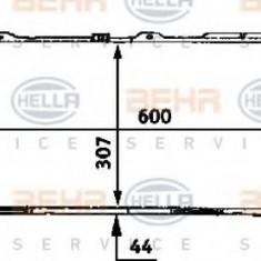Radiator, racire motor AUDI 500 1.8 CAT - HELLA 8MK 376 716-641 - Radiator racire LuK