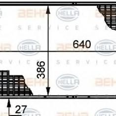 Radiator, racire motor CITROËN XM 2.0 i - HELLA 8MK 376 719-201 - Radiator racire LuK
