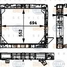 Radiator, racire motor - HELLA 8MK 376 709-511 - Radiator racire LuK