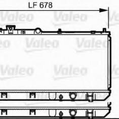 Radiator, racire motor MAZDA FAMILIA V 1.5 16V - VALEO 734123 - Radiator racire Bosch