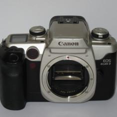 Canon Eos Elan II - Body + ocular, curea si Canon RC-1 - Fabricat pt. America - Aparat Foto cu Film Canon