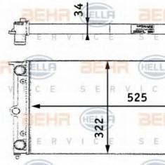 Radiator, racire motor SEAT TERRA caroserie 1.3 D - HELLA 8MK 376 713-461 - Radiator racire LuK