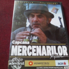 FILM DVD CAPCANA MERCENARILOR - Film actiune Altele, Romana