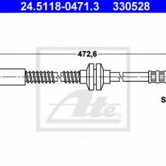 Furtun frana PEUGEOT 806 2.0 Turbo - ATE 24.5118-0471.3, REINZ