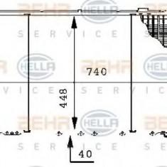 Radiator, racire motor NISSAN PATROL Station Wagon 3.2 D - HELLA 8MK 376 706-271 - Radiator racire LuK