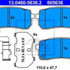 Placute frana REINZ HYUNDAI H-1 / GRAND STAREX bus 2.5 CRDI - ATE 13.0460-5636.2