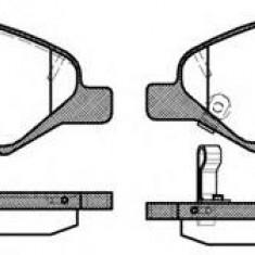Placute frana Trw NISSAN VERSA hatchback 1.6 - ROADHOUSE 21293.02