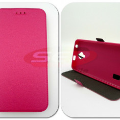 Toc FlipCover Stand Magnet Samsung Galaxy S7 ROZ - Husa Telefon
