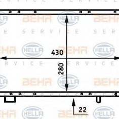Radiator, racire motor RENAULT LE CAR 1.3 Automatik - HELLA 8MK 376 707-131 - Radiator racire LuK