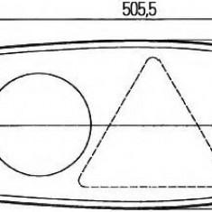 Lampa spate - HELLA 2VP 341 419-107