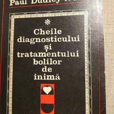 Cheile diagnosticului si tratamentului bolilor de inima, Paul Dudley White, 206p - Carte Cardiologie