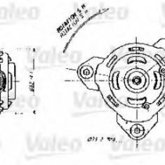 Motor electric, ventilator RENAULT CLIO Mk II 1.4 16V - VALEO 698356 - Electroventilator auto