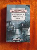 Mark TWAIN - TOM SAWYER  HUCKLEBERRY FINN (IN ENGLEZA, WORDSWORTH CLASSICS)