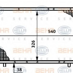 Radiator, racire motor RENAULT TRAFIC bus 2.1 D - HELLA 8MK 376 708-701 - Radiator racire LuK