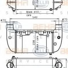 Radiator, retarder - HELLA 8MO 376 765-621