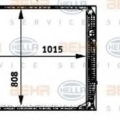 Radiator, racire motor SETRA Series 400 TopClass S 415 HD - HELLA 8MK 376 722-371 - Radiator racire LuK