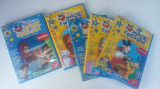 DVD MAGIC ENGLISH DISNEY VOLUMUL  3,4,7,9,14 .FARA ZGARIETURI PE DVD !!, Romana, disney pictures