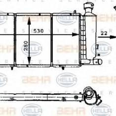 Radiator, racire motor CITROËN C15 1.4 - HELLA 8MK 376 715-411 - Radiator racire LuK