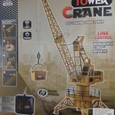 Tower crane excavator - Vehicul